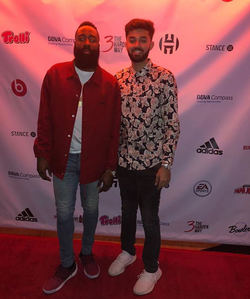 Jagmeet Kahlon and                               James Harden                              ​