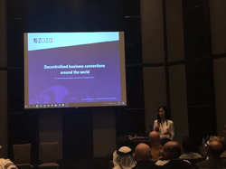 ZAZA project being presented in Planet Blockchain Community, Dubai, January 2018