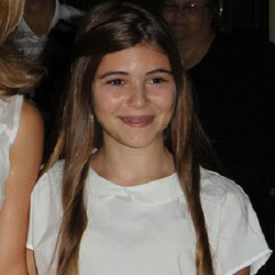 Photo of a young Olivia Jade