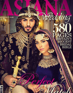 Omar Borkan on the cover of Asiana Magazine (2013)