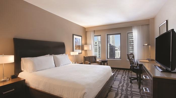 Hilton Garden Inn Chicago Downtown/Magnificent Mile Hotel, IL -Standard King