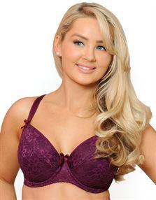 Picture of Flirtelle Lena Padded Balconette Bra Cherry