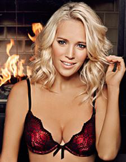 Picture of Ultimo  The One Josephine Plunge Bra Black/Red