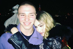 Rocco Ritchie and Madonna