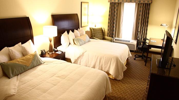 Spacious 2 Queen Bedroom