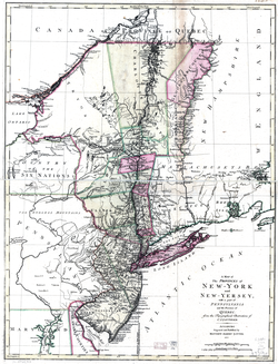 New York and neighboring jurisdictions in 1777