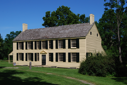 General Shuyler's house at Saratoga National Historical Park.