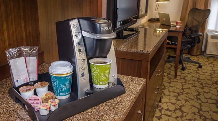 - Keurig Machine in each Guestroom