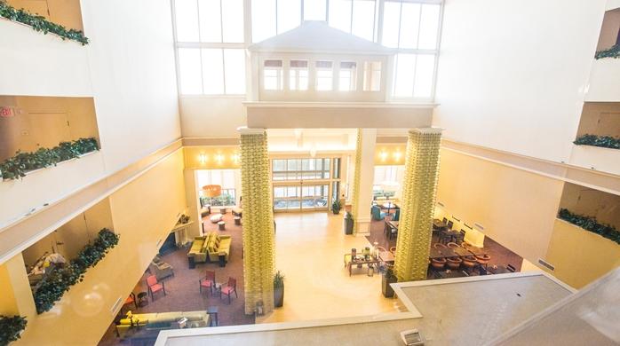 Atrium and Entrance