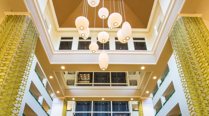 Hotel Atrium Lighting