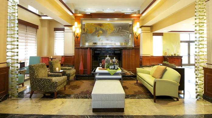 Hilton Garden Inn Virginia Beach Town Center Hotel, VA -Reception