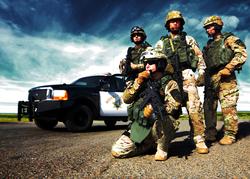 Members of the CHP SWAT Team
