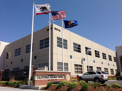 California Highway Patrol Headquarters in Sacramento, CA.