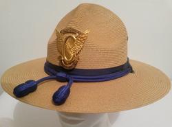 California Highway Patrol campaign hat.