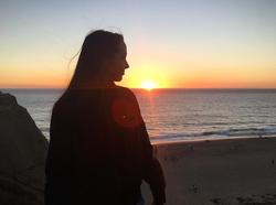 Photo of Merrell during sunset.[15]