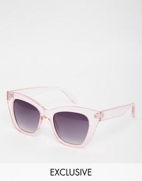 AJ Morgan Exclusive Candy Pink Cay Eye Sunglasses