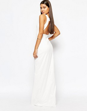 AQAQ Yenan Maxi With Square Open Back