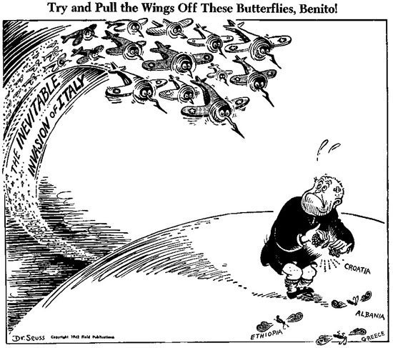 Try and pull the wings off these butterflies, Benito!