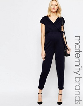 Bluebelle Maternity Relaxed Jumpsuit