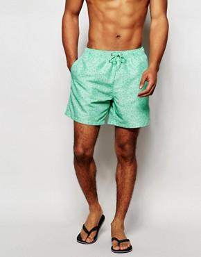 Boardies Printed Swim Shorts in Mid Length