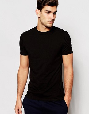 Bread & Boxers Crew Neck T-Shirt In Organic Cotton In Regular Fit