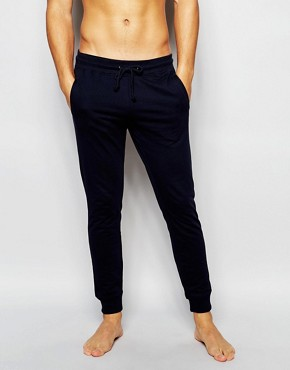 Bread & Boxers Cuffed Joggers In Slim Fit