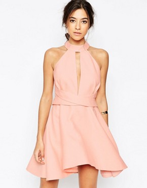 C/meo Collective I'm New Here Dress in Pink