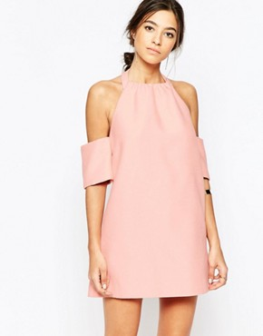 C/meo Collective Perfect Lie Dress in Pink