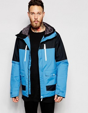 CLWR Waterproof Jacket with Colourblock