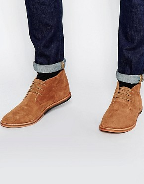 Frank Wright Strachan Suede Chukka Boots