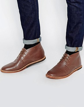 Frank Wright Strachan Leather Chukka Boots
