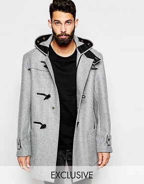 Gloverall Duffle Coat in Melton Wool EXCLUSIVE