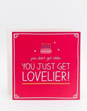 Happy Jackson Lovelier Birthday Card