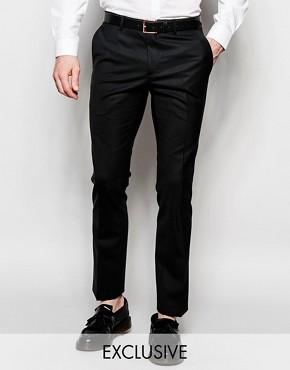 Heart & Dagger Wool Trousers in Skinny Fit