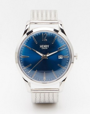 Henry London Knightsbridge Watch In Stainless Steel