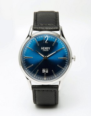Henry London Knightsbridge Watch With Leather Strap