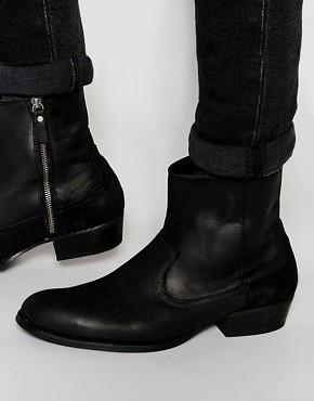 House Of Hounds Hendrix Leather Boots
