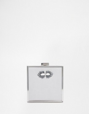 Johnny Loves Rosie Exclusive Square Box Clutch Bag