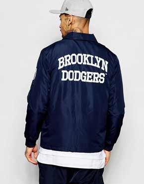 Majestic Brooklyn Dodgers Coach Jacket