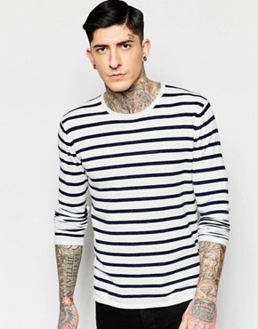Minimum Jumper With Breton Stripe