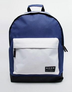 Nicce Backpack With Taping Detail