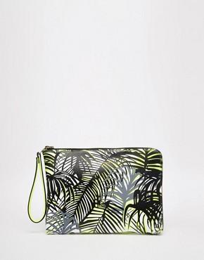 Paul's Boutique Mini Fleur Reversible Clutch Bag
