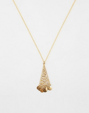 Regal Rose Alrini Tarkashi Pendant Necklace