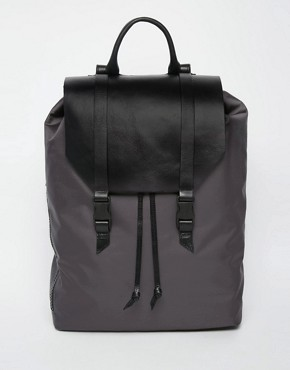 Royal RepubliQ Galactic Legioner Backpack with Leather Trims