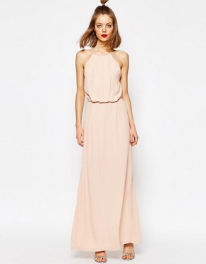 Samsoe & Samsoe Willow Maxi Dress with Lace Inserts