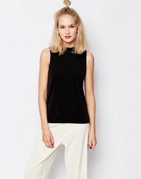 Samsoe & Samsoe Kinna Sleeveless Slinky T-Shirt