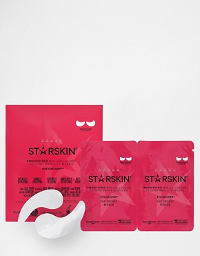 Starskin Eye-Catcher Smoothing Coconut Bio-Cellulose Second Skin Eye Masks