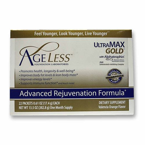 Ageless Foundation Ultra MAX Gold with Alphatrophin