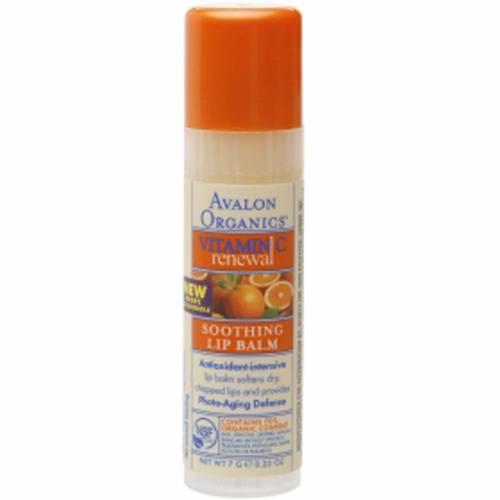 Avalon Organics Vitamin C Soothing Lip Balm Tube
