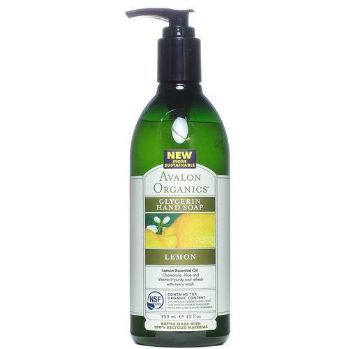 Avalon Organics Lemon Glycerin Hand Soap